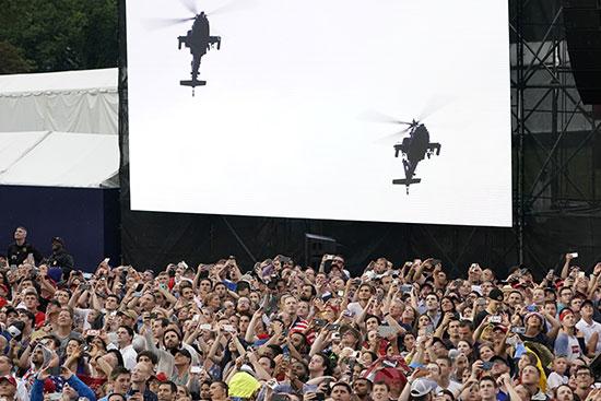 الحشود الأمريكية