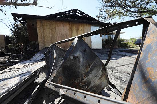 منزل تدمر بسبب الزلزال