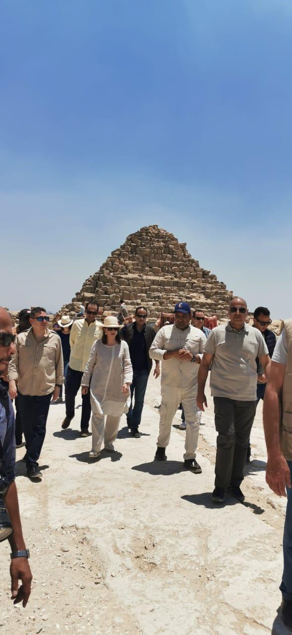 زيارة رئيس الجمعية العامة للأمم المتحدة لمنطقة آثار الهرم (6)