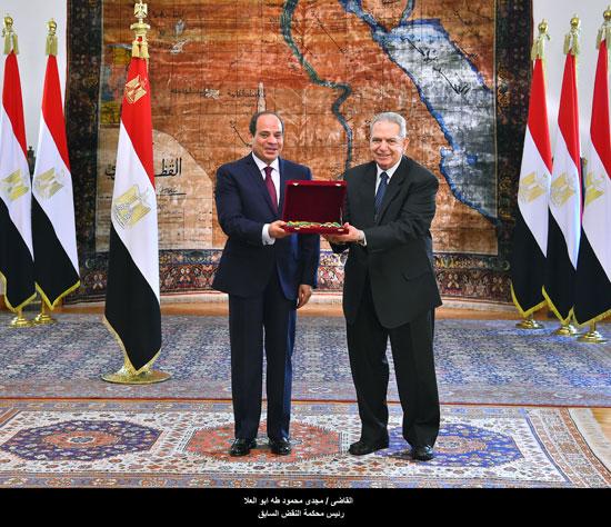 القاضى مجدى محمود طه أبو العلا رئيس محكمه النقض السابق
