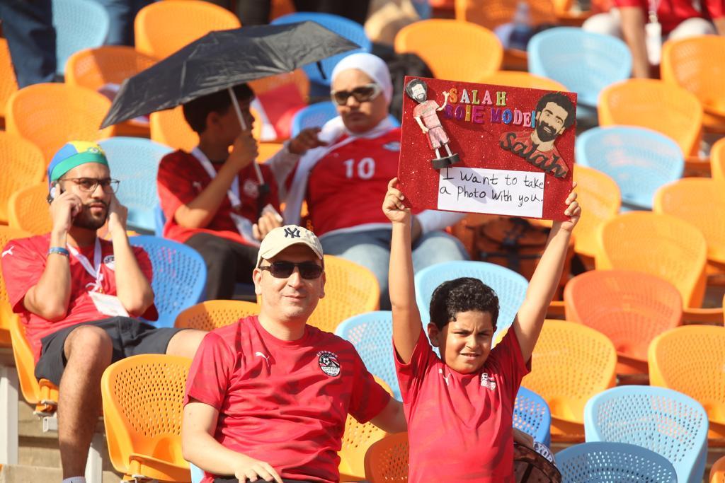 الجماهير فى مباراة مصر وجنوب أفريقيا  (1)