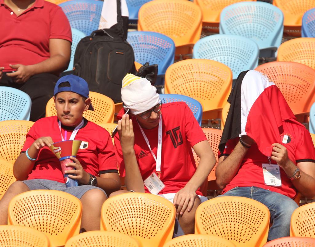 الجماهير فى مباراة مصر وجنوب أفريقيا  (10)