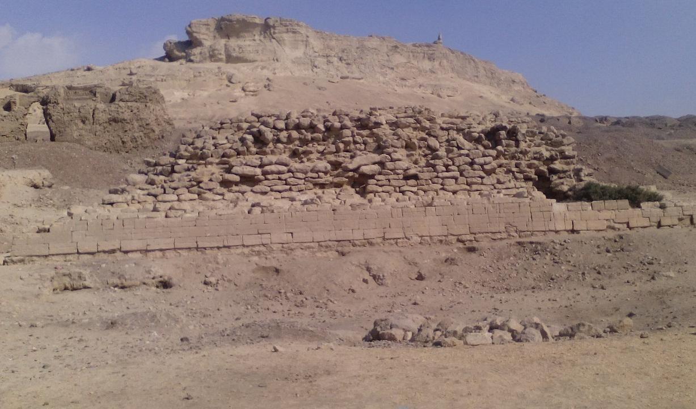 الهرم الأثري بالمنيا
