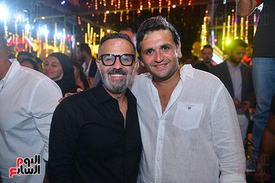 حفل زفاف نجل الفنان ماجد المصرى (3)