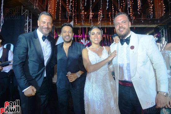 حفل زفاف نجل الفنان ماجد المصرى (14)