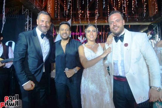 حفل زفاف نجل الفنان ماجد المصرى (20)