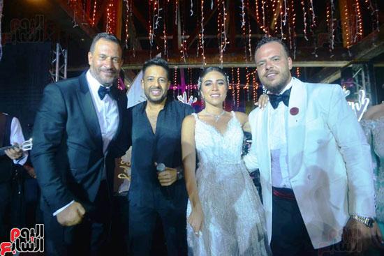 حفل زفاف نجل الفنان ماجد المصرى (11)