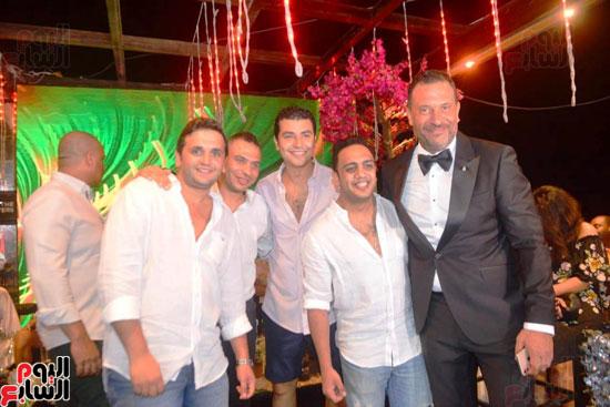 حفل زفاف نجل الفنان ماجد المصرى (25)
