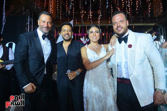 حفل زفاف نجل الفنان ماجد المصرى (1)