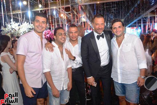 حفل زفاف نجل الفنان ماجد المصرى (12)