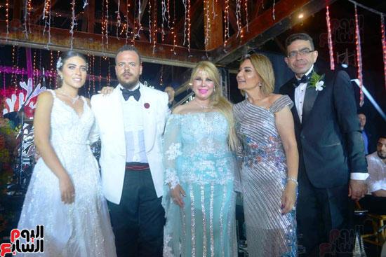 حفل زفاف نجل الفنان ماجد المصرى (26)