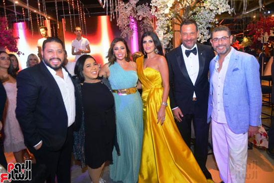 حفل زفاف نجل الفنان ماجد المصرى (4)