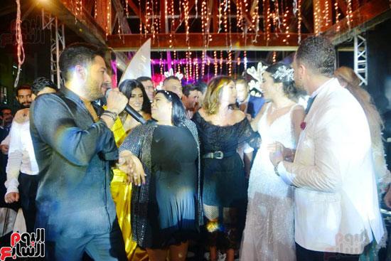 حفل زفاف نجل الفنان ماجد المصرى (22)