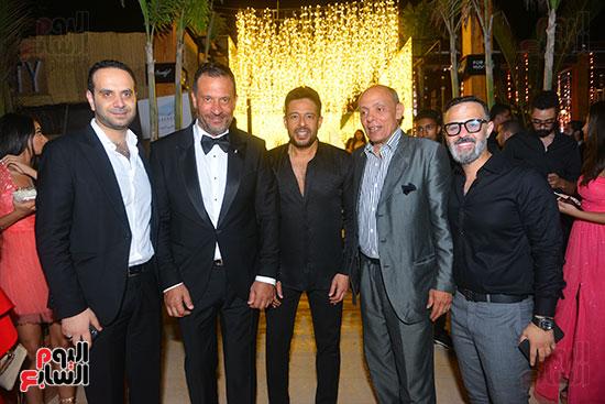حفل زفاف نجل الفنان ماجد المصرى (8)