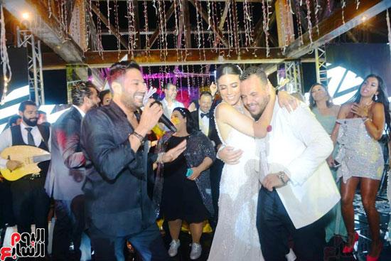 حفل زفاف نجل الفنان ماجد المصرى (23)