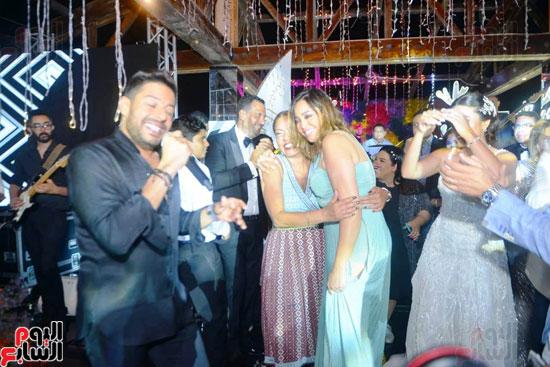 حفل زفاف نجل الفنان ماجد المصرى (9)