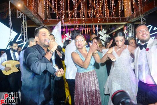 حفل زفاف نجل الفنان ماجد المصرى (24)