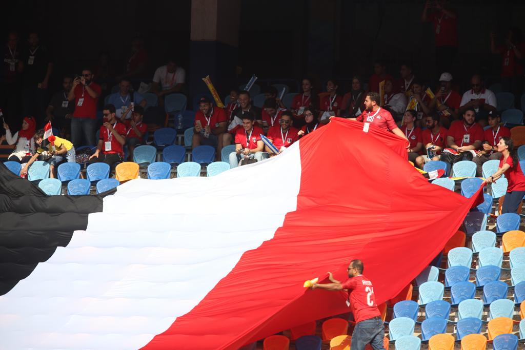 الجماهير فى مباراة مصر وجنوب أفريقيا  (5)
