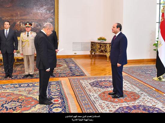 عصام الدين محمد فهيم المنشاوى رئيس الهيئة النيابية الإدارية