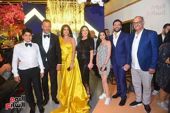 حفل زفاف نجل الفنان ماجد المصرى (10)