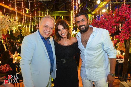 حفل زفاف نجل الفنان ماجد المصرى (5)