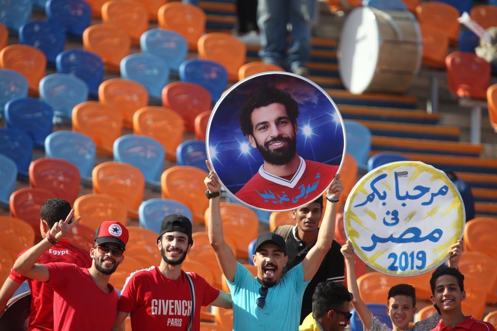 الجماهير فى مباراة مصر وجنوب أفريقيا  (3)