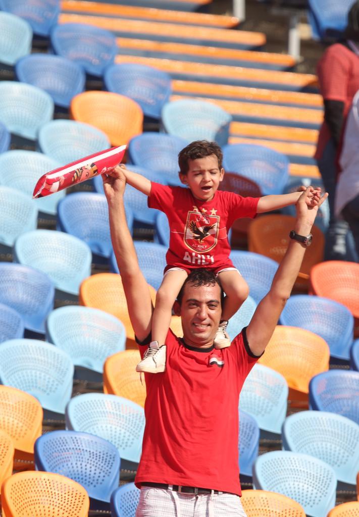 الجماهير فى مباراة مصر وجنوب أفريقيا  (7)