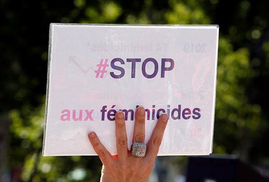 احتجاجات ضد العنف الأسرى فى فرنسا (4)