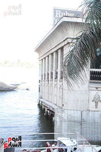 العائمة النيلية بكورنيش النيل فى الدقى (16)