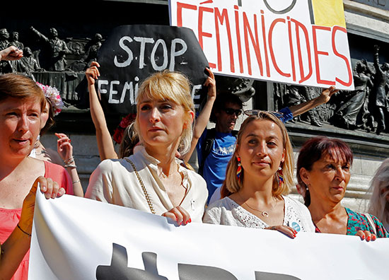 احتجاجات ضد العنف الأسرى فى فرنسا (6)
