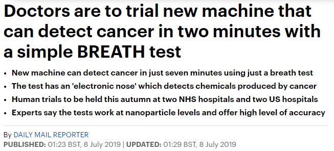 اختبار جديد سيحدث ثورة فى عالم السرطان