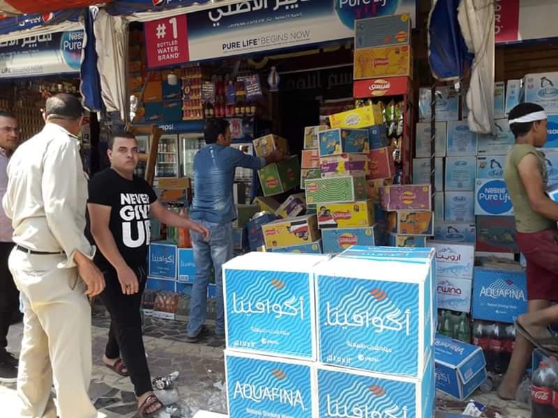جولة رئيس مدينة قويسنا على المحلات والمخابز  (4)