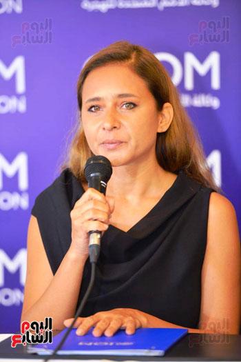 نيللى-كريم-خلال-مؤتمر-التكريم