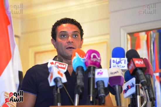 حفل تنصيب فنانين مصريين سفراء للنوايا الحسنة  (1)