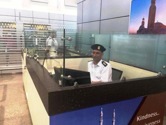 شرطة المطار الجديد