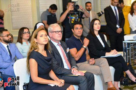حفل تنصيب فنانين مصريين سفراء للنوايا الحسنة  (6)