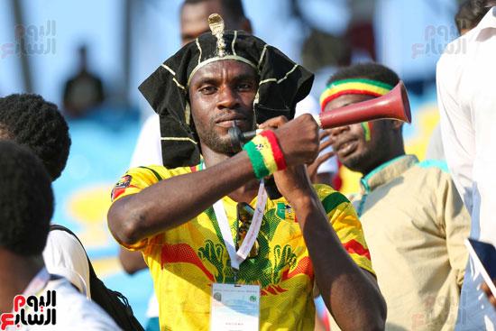 مشجع أفريقي فى بطولة امم افريقيا