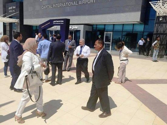 استعدادات لتشغيل المطار