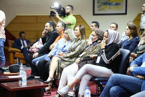 افتتاح الملتقى العاشر للإعلاميات الرياضيات العربيات بنقابة الصحفيين، (5)