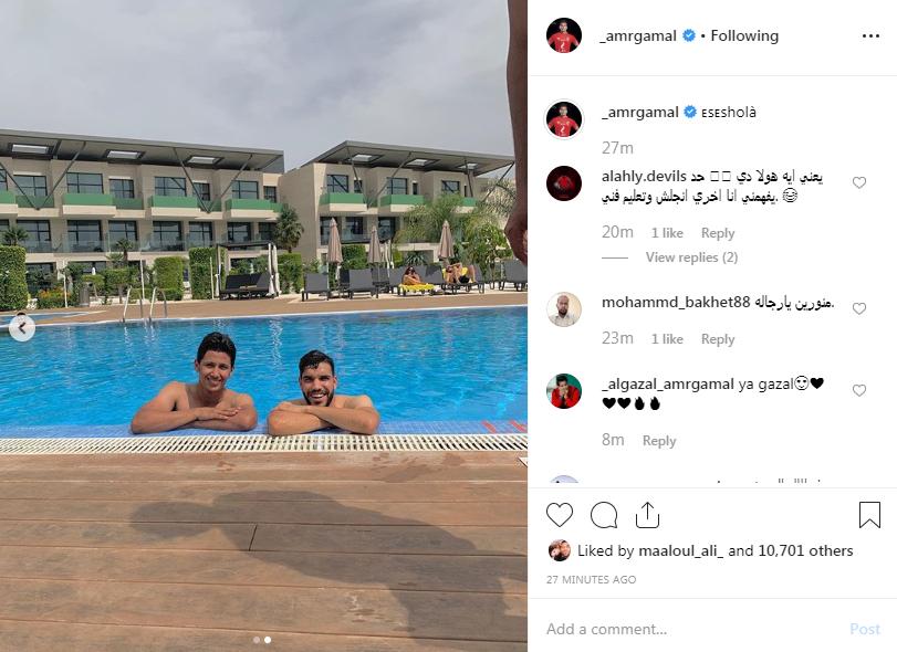 عمرو جمال و وليد ازارو