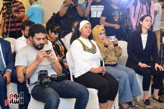 حفل تنصيب فنانين مصريين سفراء للنوايا الحسنة  (8)