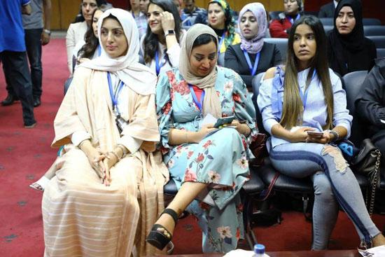 افتتاح الملتقى العاشر للإعلاميات الرياضيات العربيات بنقابة الصحفيين، (9)