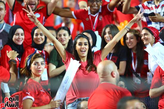 مشجعات مصر فى مدرجات امم افريقيا