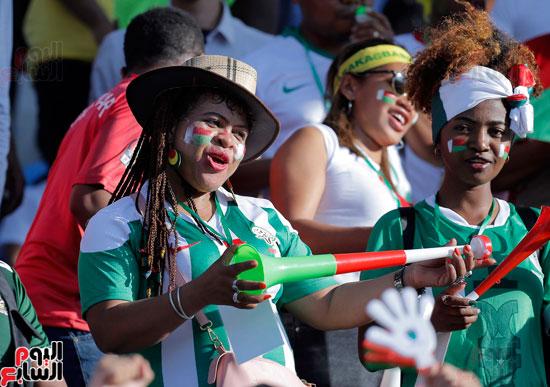 تقاليع الجماهير الأفريقية فى مدرجات أمم 2019