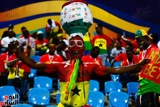 جماهير غانا فى المدرجات