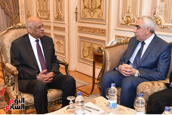 The Speaker of the House receives the Iraqi Ambassador and confirms Egypt's decisive position on the sovereignty and stability of Iraq 73131-%D8%B1%D8%A6%D9%8A%D8%B3-%D9%85%D8%AC%D9%84%D8%B3-%D8%A7%D9%84%D9%86%D9%88%D8%A7%D8%A8-%D8%B9%D9%84%D9%89-%D8%B9%D8%A8%D8%AF%D8%A7%D9%84%D8%B9%D8%A7%D9%84-%D9%8A%D8%B3%D8%AA%D9%82%D8%A8%D9%84-%D8%A7%D9%84%D8%B3%D9%81%D9%8A%D8%B1-%D8%A7%D9%84%D8%B9%D8%B1%D8%A7%D9%82%D9%89-(1)
