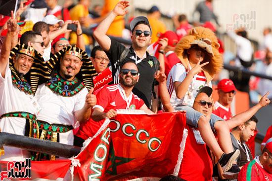 جماهير المغرب فى المدرجات