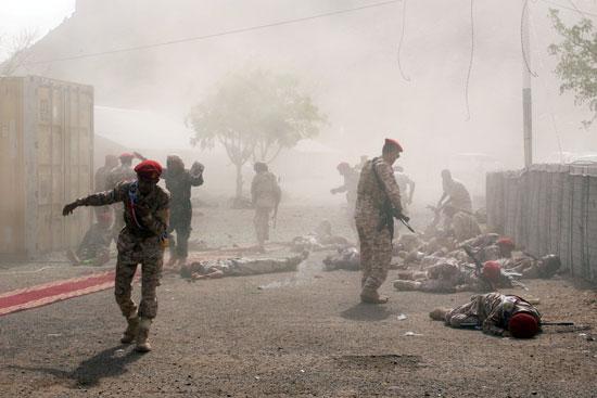 عدد من الضحايا عقب الهجوم