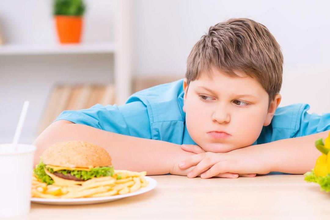 السمنة خطر على الاطفال