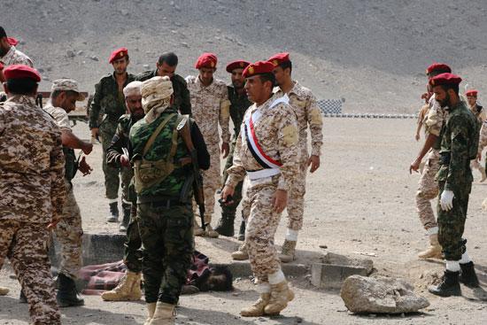 قوات الجيش عقب الهجوم